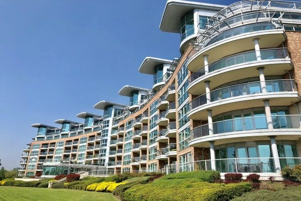 Thumbnail Flat to rent in River Crescent, Waterside Way