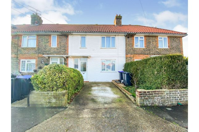 3 bed terraced house for sale in Thackeray Road, Worthing BN14