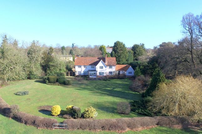 Thumbnail Detached house for sale in Cemetery Lane, East Bergholt, Colchester, Suffolk