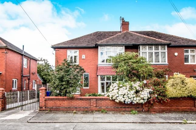 Thumbnail Semi-detached house for sale in Clovelly Road, Chorlton, Manchester, Greater Manchester