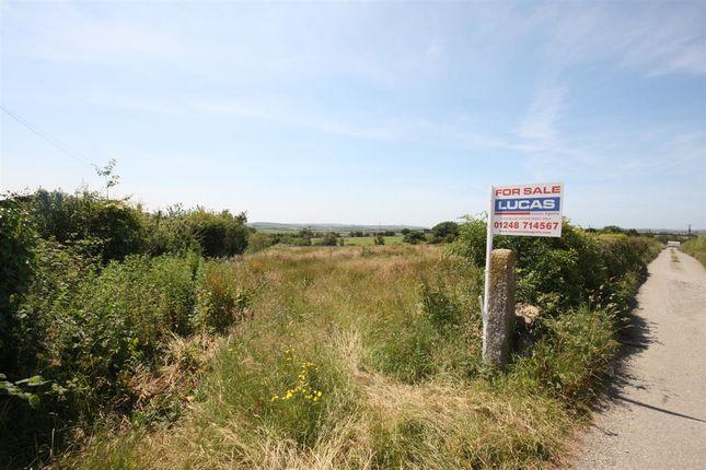 Thumbnail Land for sale in Building Plot Adjacent To Tynygongl, Pencraigwen, Pencraigwen