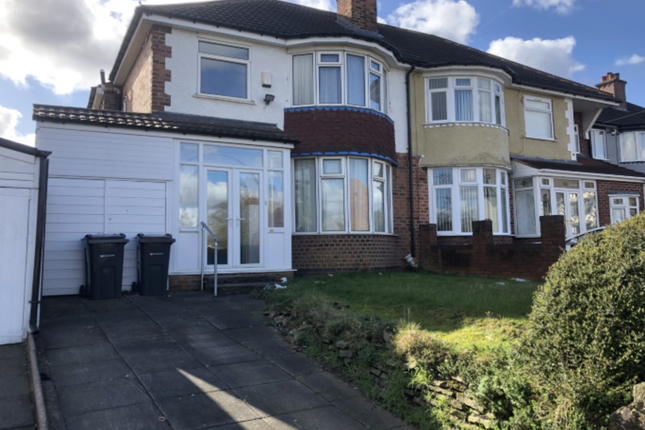 Thumbnail Semi-detached house for sale in Blakesley Road, Yardley