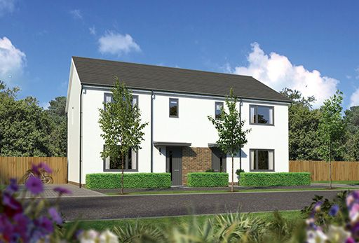 """Thumbnail Terraced house for sale in """"Caplewood"""" at Kingswells, Aberdeen"""