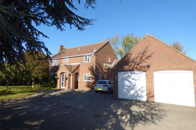 Thumbnail Detached house for sale in Eastrea Road, Whittlesey, Peterborough, Cambridgeshire