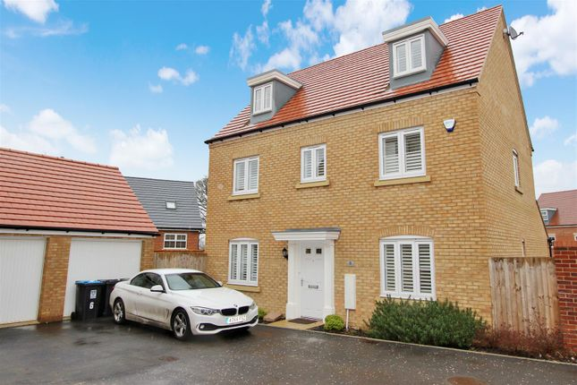 Thumbnail Detached house for sale in Dunnock Close, Aspen Park, Hertfordshire