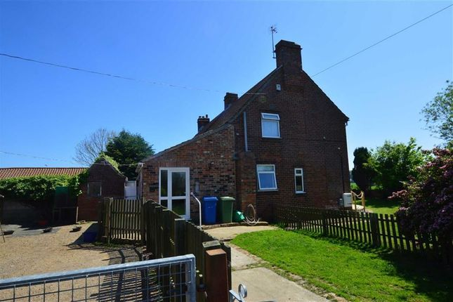 Thumbnail Semi-detached house for sale in Bridlington Bay Road, Carnaby, East Yorkshire