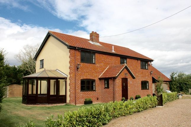 Thumbnail Detached house for sale in Hoxne Road, Denham, Eye