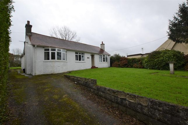 Thumbnail Detached bungalow for sale in Kingsmoor Road, Kilgetty