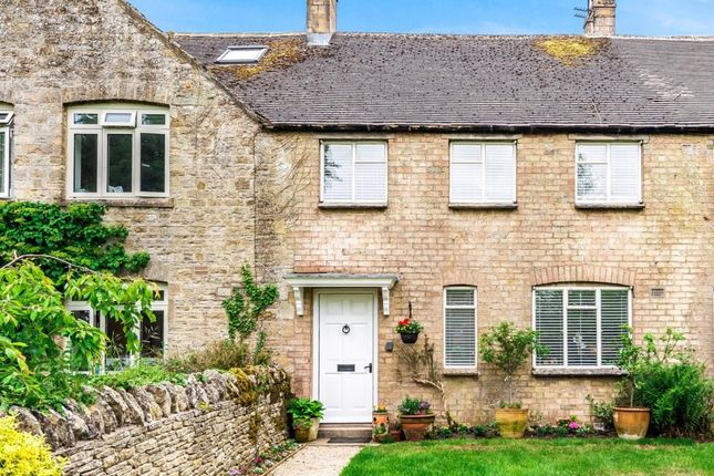 Thumbnail Terraced house for sale in Church Westcote, Oxfordshire