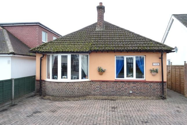 Thumbnail Detached bungalow for sale in Woodham Lane, New Haw