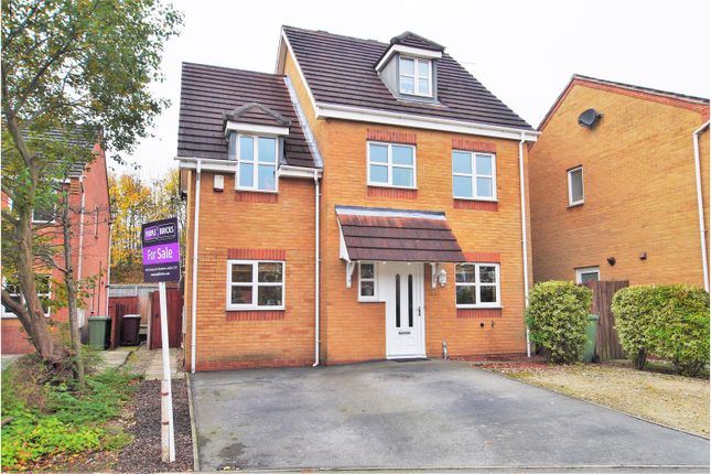 Thumbnail Detached house for sale in Worcester Close, Clay Cross, Chesterfield