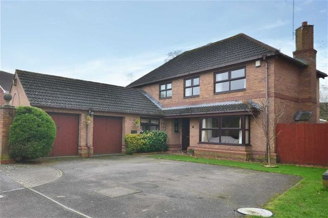 Thumbnail Detached house for sale in The Chase, Abbeydale, Gloucester