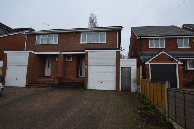 Thumbnail Semi-detached house for sale in Dudley Road, Rowley Regis