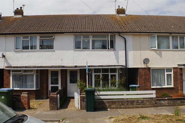 Thumbnail Terraced house to rent in Dean Close, Wick, Littlehampton