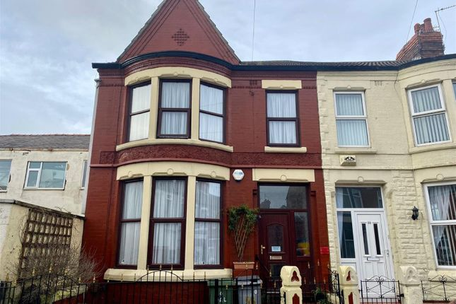 Thumbnail End terrace house to rent in Walsingham Road, Wallasey