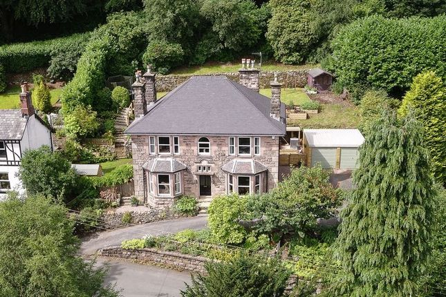 Thumbnail Detached house for sale in Lake Road, Rudyard, Staffordshire