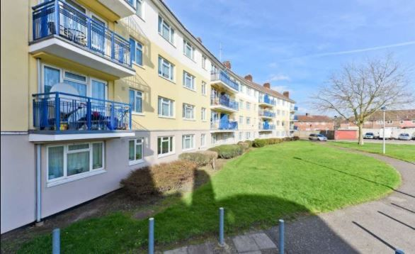 Flat for sale in Keir Hardie House, Marian Way, Harlesden
