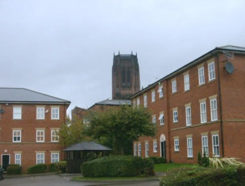 Thumbnail Flat to rent in Anglican Court, Liverpool