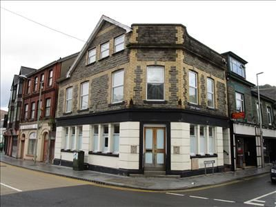Thumbnail Retail premises for sale in 1 Station Street, Porth