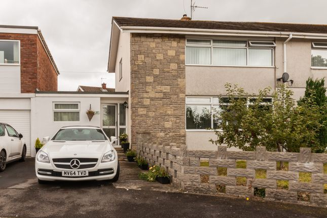 Thumbnail Link-detached house for sale in Woodland Avenue, Pencoed, Bridgend