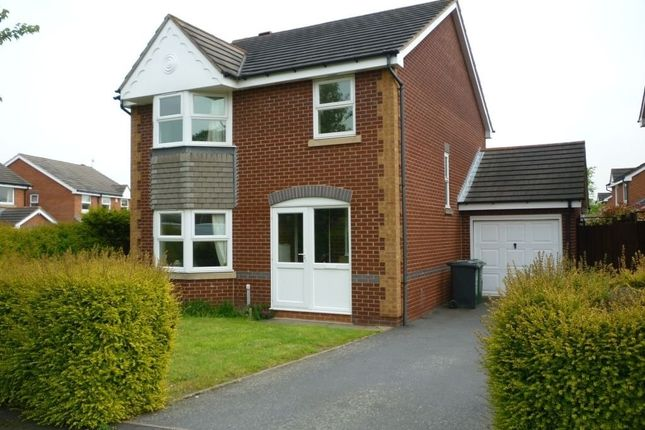 Thumbnail Detached house to rent in Nutkin Close, Loughborough, Charnwood
