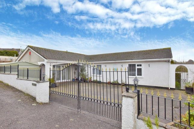 Thumbnail Detached bungalow for sale in Redmoor Road, Kelly Bray, Callington, Cornwall