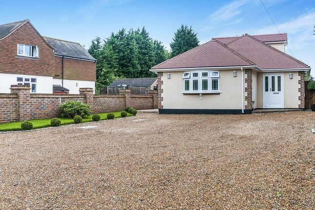 Thumbnail Bungalow for sale in Ash Road, Hartley, Longfield