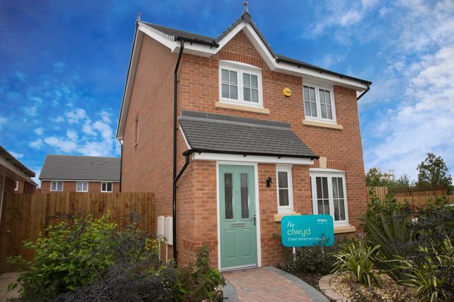 Thumbnail Detached house for sale in The Clwyd, Chester Road, Oakenholt