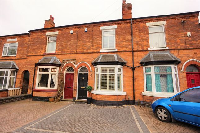 Thumbnail Terraced house for sale in Jockey Road, Sutton Coldfield