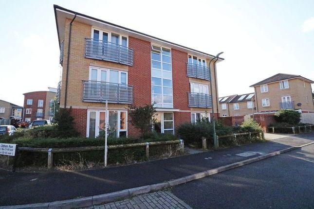Front of Oldham Rise, Medbourne, Milton Keynes MK5