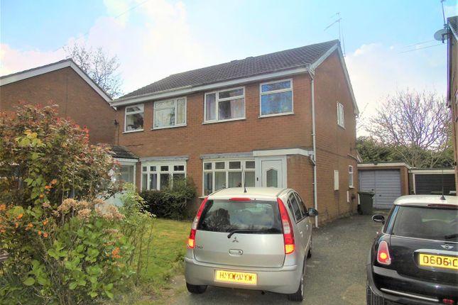 Thumbnail Semi-detached house for sale in Wickham Gardens, Wolverhampton