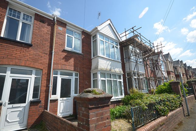 Thumbnail Town house for sale in Lucas Avenue, Mount Pleasant, Exeter