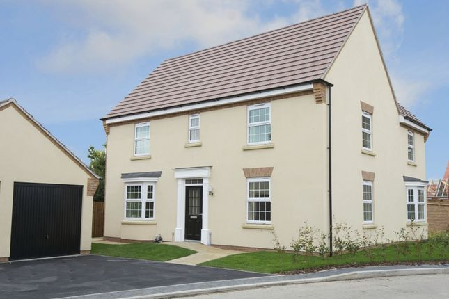 "Thumbnail Detached house for sale in ""Layton"" at Mount Street, Barrowby Road, Grantham"