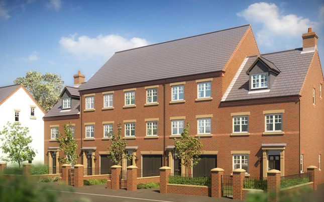 Thumbnail Mews house for sale in The Melford, William Nadin Road, Swadlincote, Derby