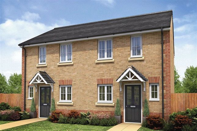 Thumbnail Semi-detached house for sale in Murrell Way, Shrewsbury