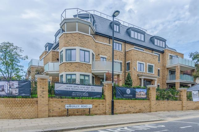 Thumbnail Flat for sale in Elysium Court, Waverley Road, West Enfield