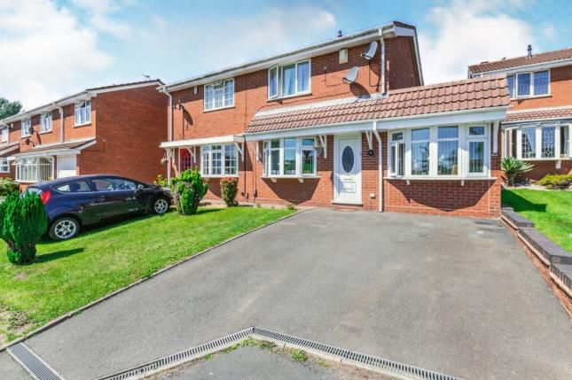 Thumbnail Semi-detached house for sale in Kington Close, Coppice Farm, Willenhall, West Midlands