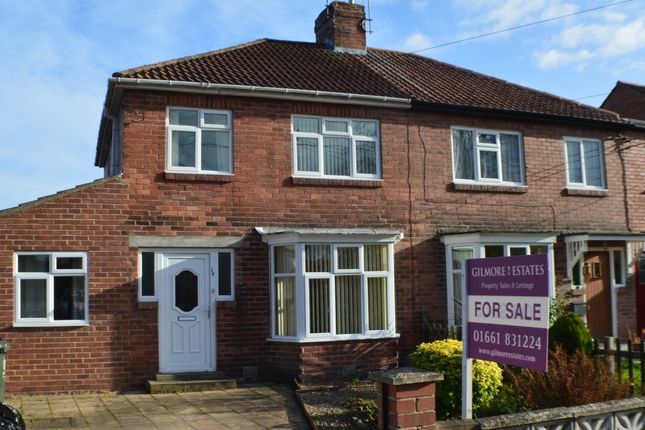 Thumbnail Semi-detached house for sale in Horsley Road, Ovingham