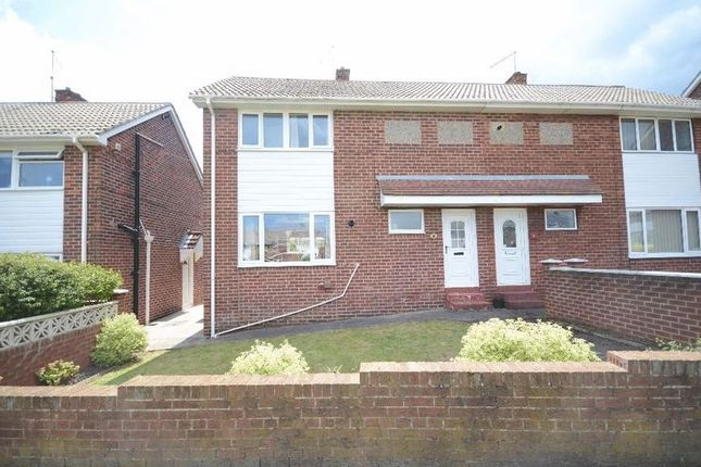 Thumbnail Semi-detached house for sale in Napier Road, Seaham