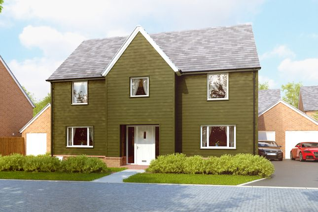 "Thumbnail Detached house for sale in ""The Hilmarton"" at Amesbury Road, Longhedge, Salisbury"
