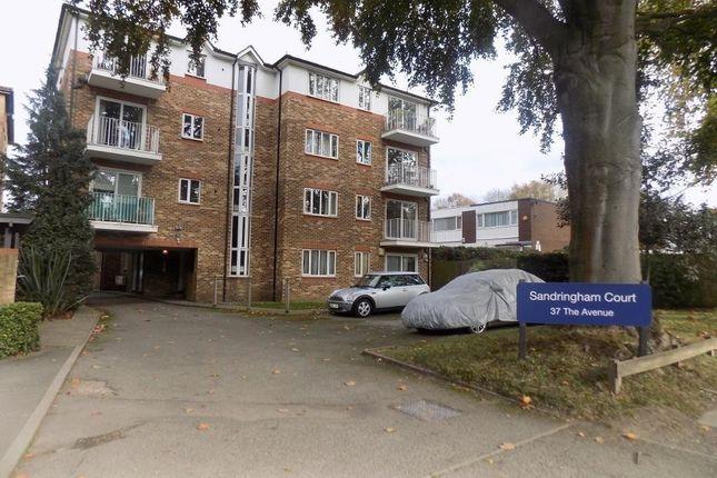 Thumbnail Flat to rent in Sandringham Court, The Avenue, Beckenham