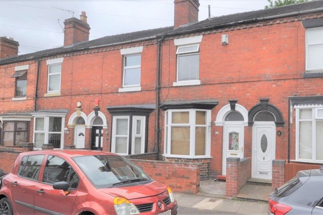 2 bed terraced house for sale in Nursery Street, West End, Stoke-On-Trent ST4