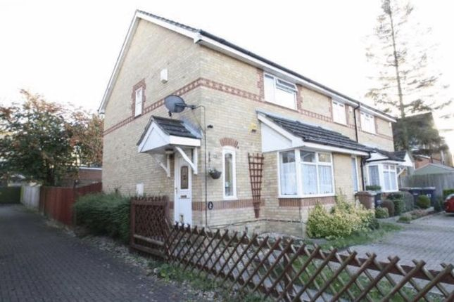2 bed semi-detached house for sale in Larkspur Gardens, Luton
