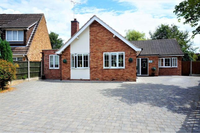 Thumbnail Detached bungalow for sale in Oakfield Close, Mansfield
