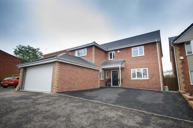 Thumbnail Detached house for sale in Sandringham Park, Downend, Bristol