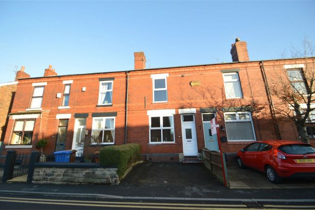 Thumbnail Terraced house for sale in Moorland Road, Woodsmoor, Stockport, Cheshire
