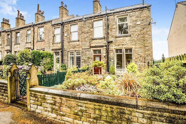Thumbnail End terrace house for sale in Elmfield Road, Birkby, Huddersfield
