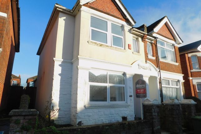 Thumbnail Shared accommodation to rent in Harborough Road, Shirley, Southampton