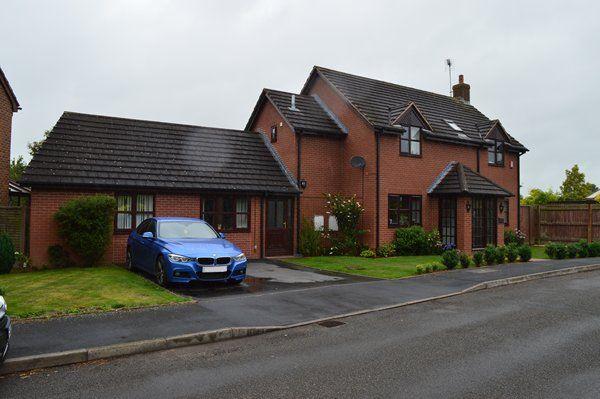 Thumbnail Detached house for sale in Parker Bowles Drive, Market Drayton