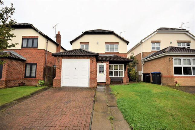Thumbnail Detached house to rent in The Maltings, Wingate, County Durham
